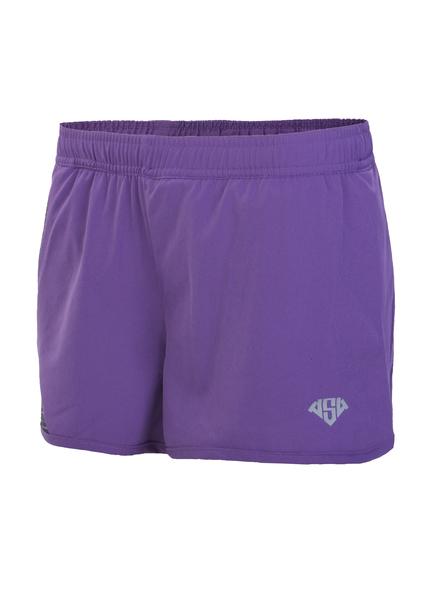 Шорты беговые женские AS4 фиолетовые