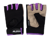 Перчатки для фитнеса Alonsa NT558F black/purple