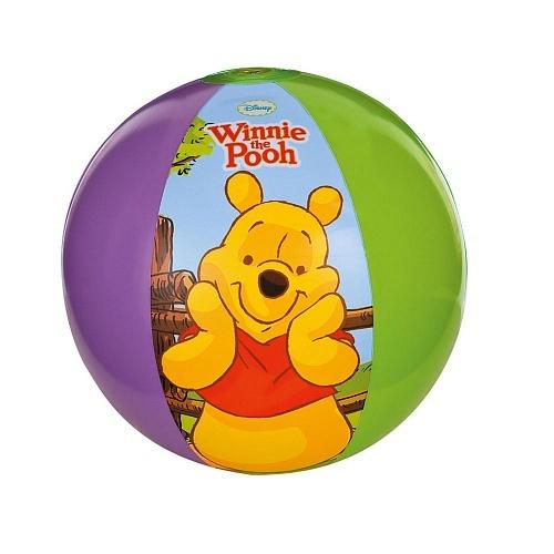 Мяч надувной Intex (3+)  58025 Винни Пух р51см