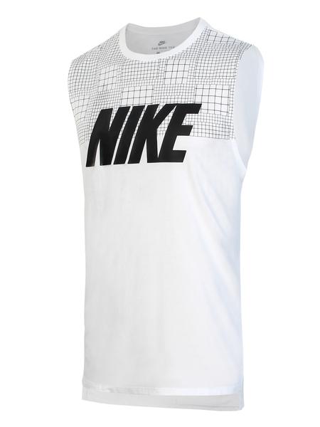 Майка мужская Nike NSW TANK DRPTL AV15 белая