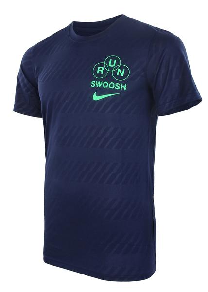 Футболка мужская Nike Dry Running T-Shirt синяя