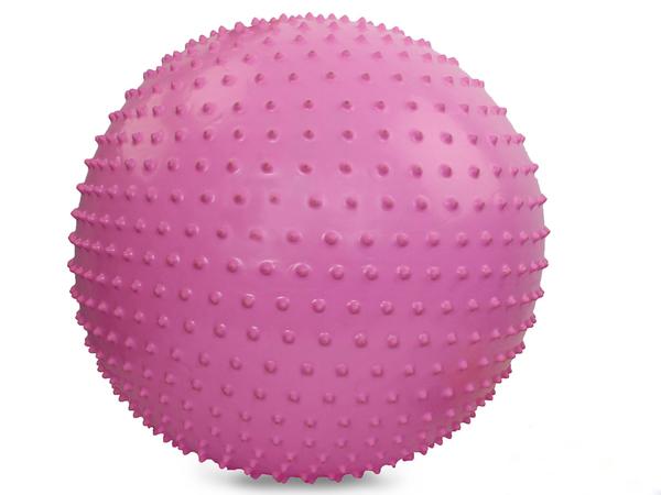 Мяч гимнастический массажный (65) см с насосом