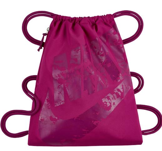 Сумка для сменной обуви Nike Heritage Gym Sack розовый