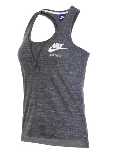 Майка женская Nike NSW GYM VNTG TANK серая