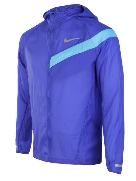 Ветровка мужская Nike  Impossibly Light Running Jacket синяя