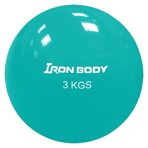 Фитнес бол FB Iron Body 1796EG-68 3 кг Ø16 см