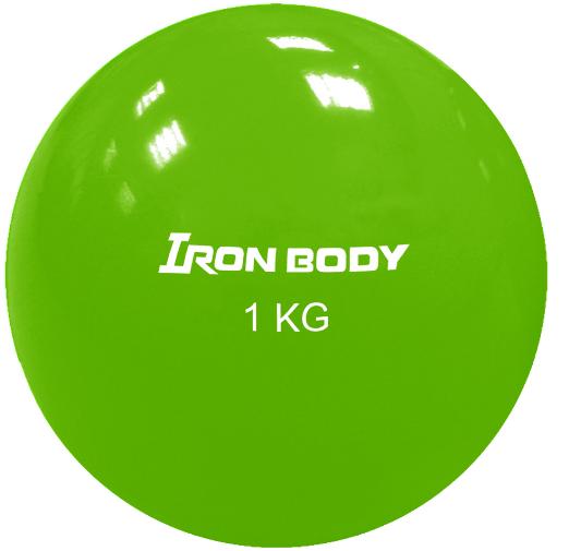 Фитнес бол Iron Body 1792EG-2 1 кг