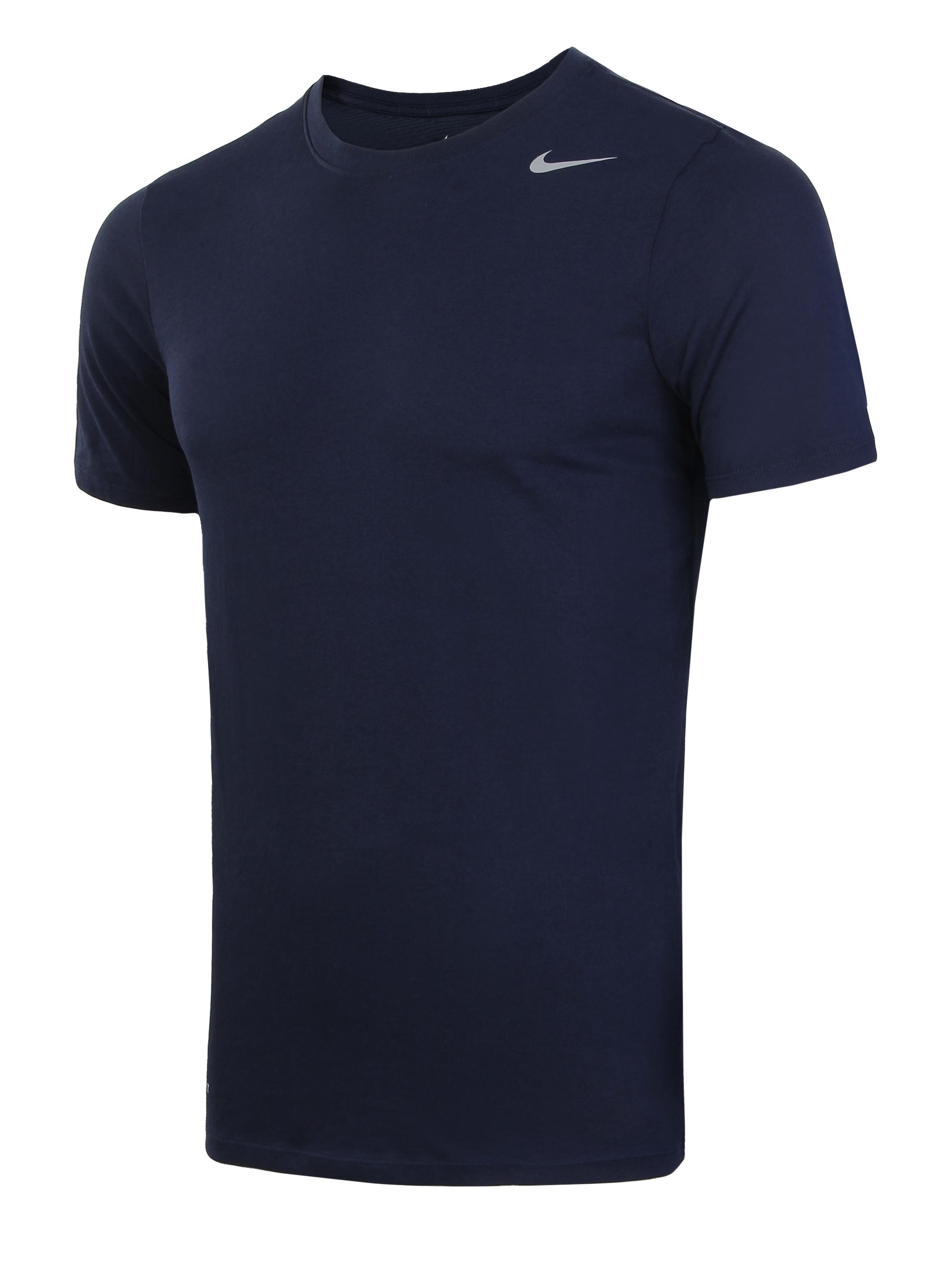 29150f5a Футболка мужская Nike Dri-FIT Cotton Short-Sleeve 2.0 темно-синяя ...