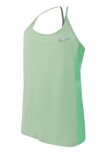 Майка женская Nike Dry Miler зеленая
