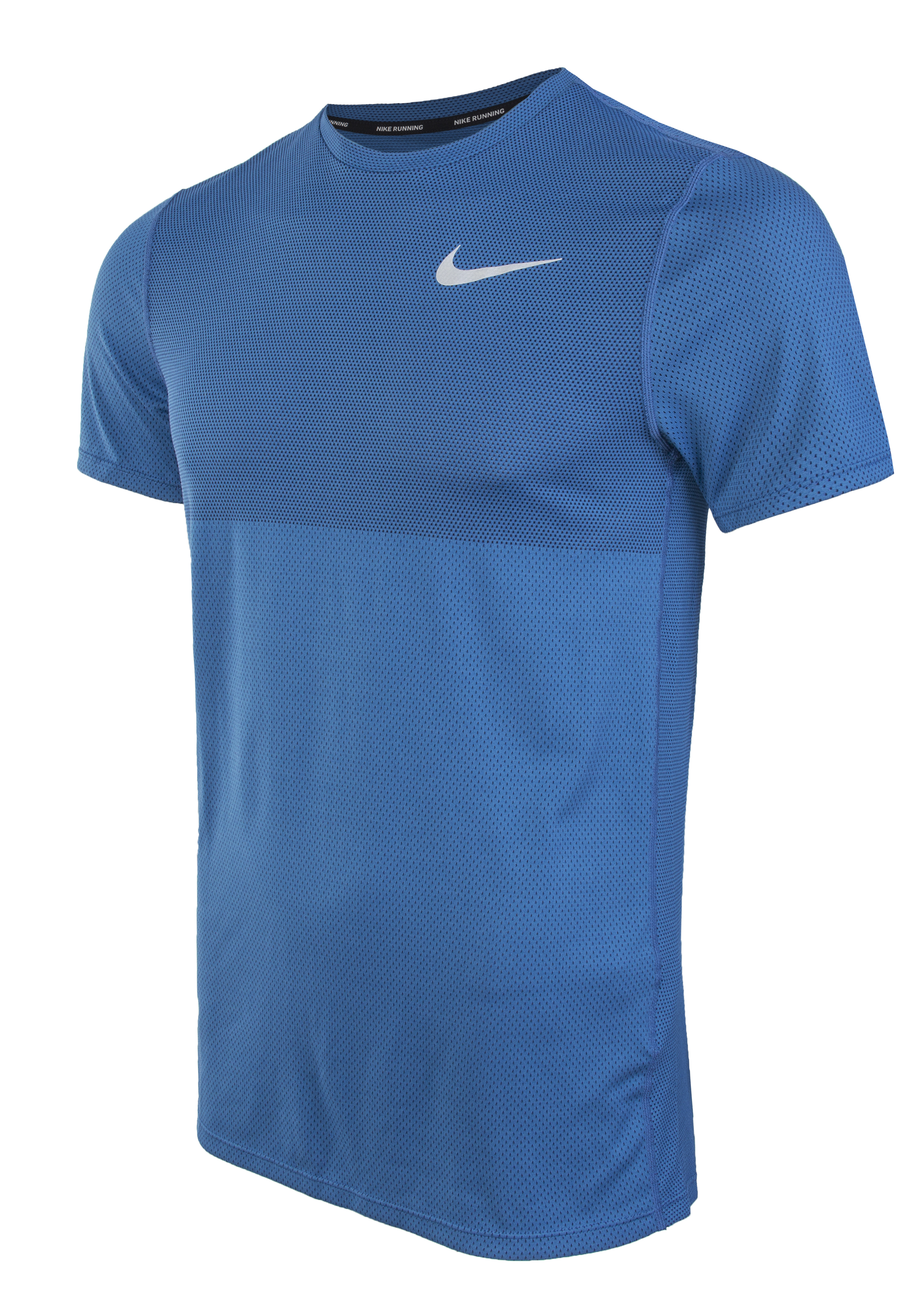 d70d4172e3c85 Футболка мужская Nike Zonal Cooling Relay Running Top синяя - Сеть ...