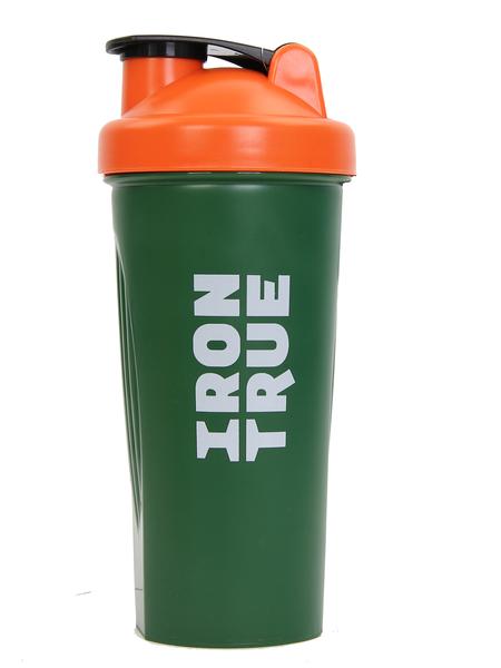 Шейкер Irontrue ITS901-600 оранжевый/зеленый 700 мл