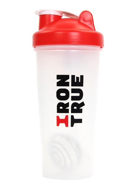 Шейкер Irontrue ITS901-600 красный/белый 700 мл