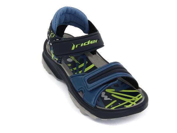 Пантолеты детские Rider K2 TWIST серые/синие