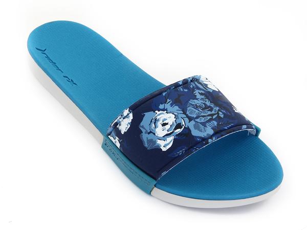 Пантолеты женские Rider Slide серые/синие