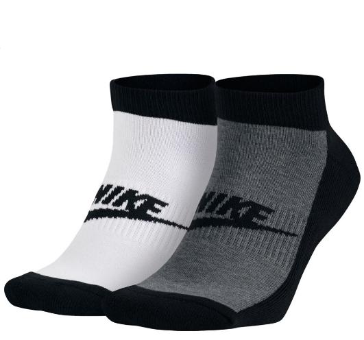 Носки Nike Graphic No-Show черные/белые