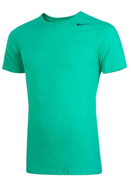 Футболка мужская Nike Dri-Fit Cotton Short-Sleeve зеленая