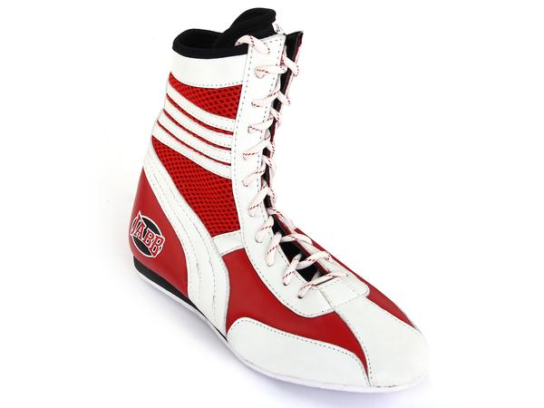 Боксерки Jabb JE-3204 красный/белый