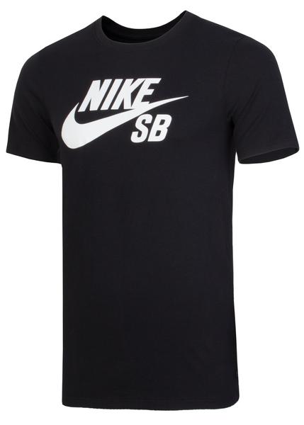 Футболка мужская Nike SB Logo черная