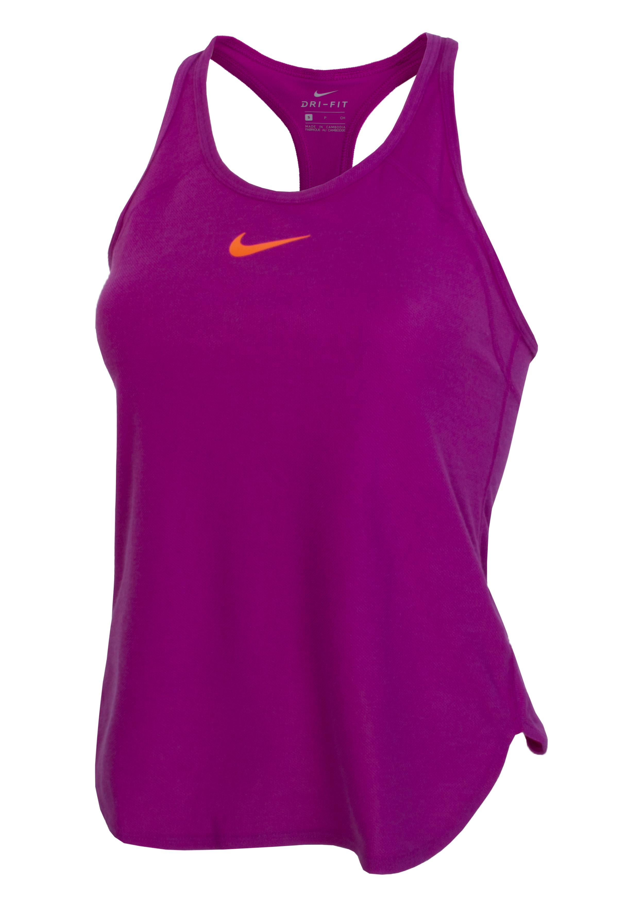 a26dcb6e Майка женская Nike Dry Slam фиолетовая - Сеть спортивных магазинов ...