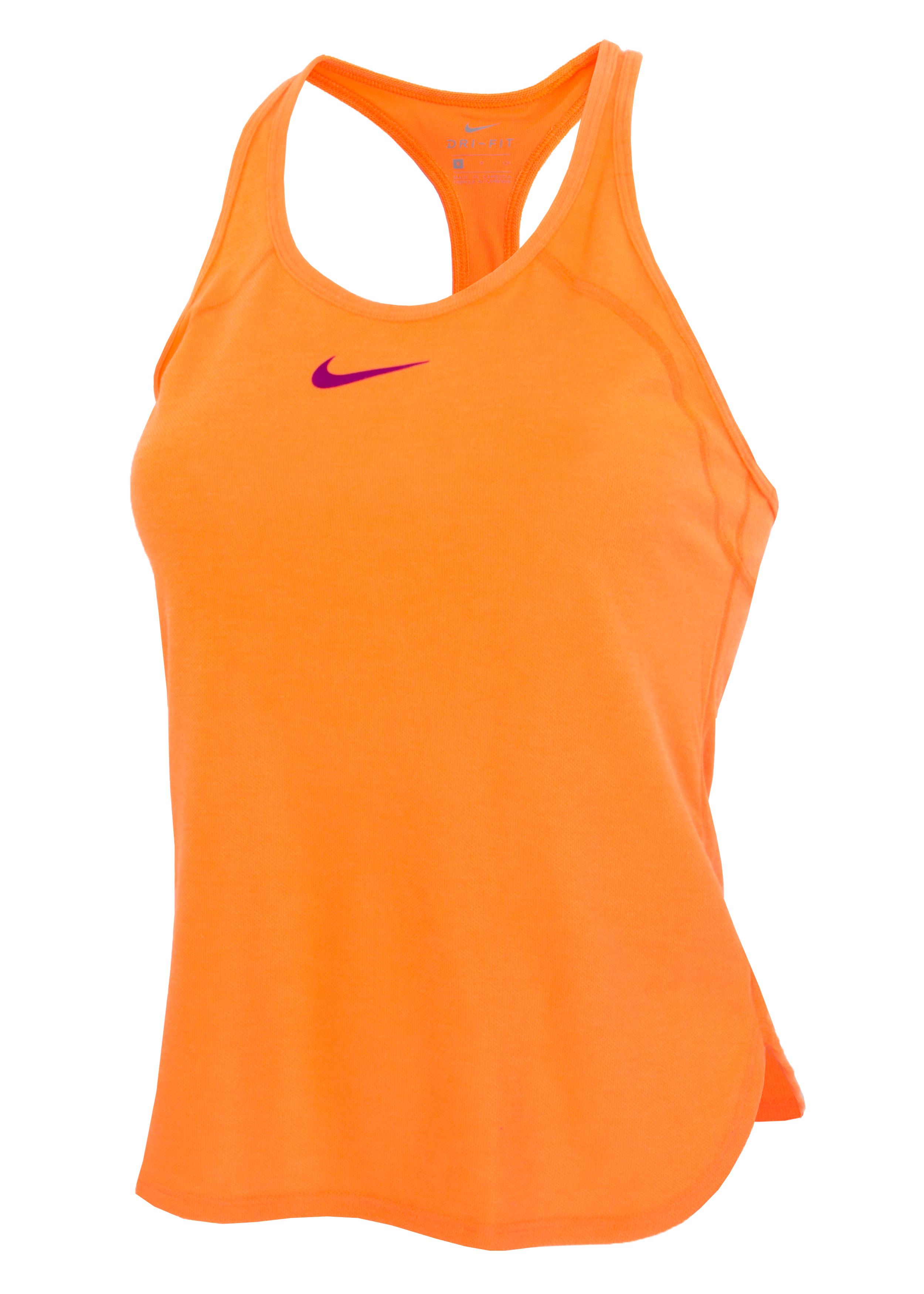 ceeab32c Майка женская Nike Dry Slam оранжевая - Сеть спортивных магазинов ...