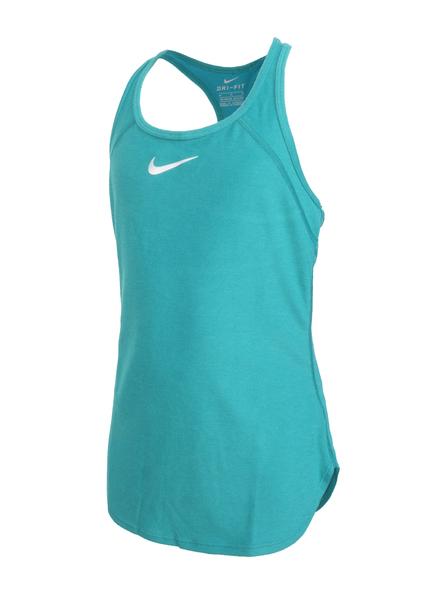 Майка детская Nike Slam Tank зеленая