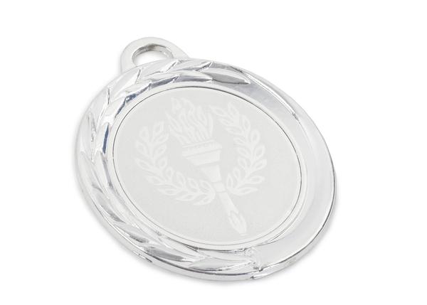 Медаль 2 МЕСТО 70 мм (серебро)