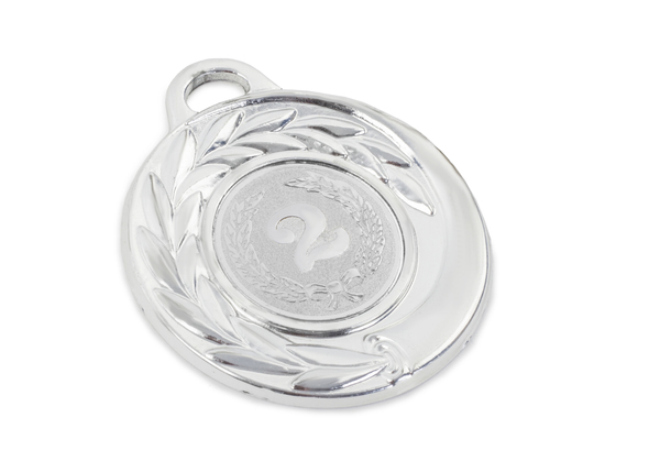 Медаль 2 МЕСТО 50 мм (серебро)
