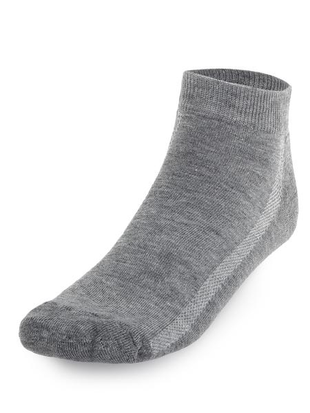 Носки AS4 уплотненные укороченные серые