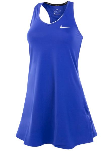Платье женское теннисное Nike Court Tennis фиолетовое