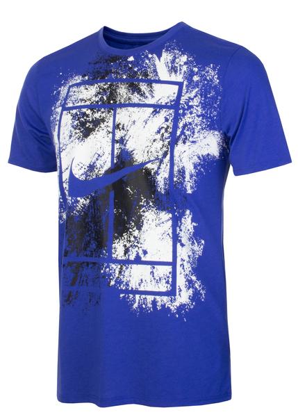 Футболка мужская Nike Dry Tee синяя