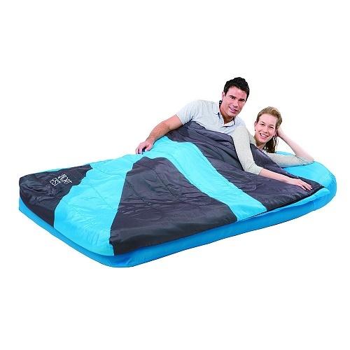Кровать надувная Bestway 2местн. Флок+спальник 67436