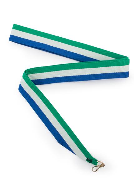 лента для медалей триколор Башкирия 24 см