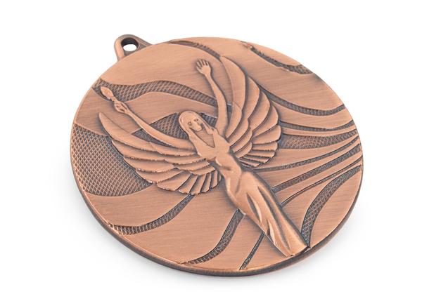 Медаль Ника 50мм G-2мм 3 место