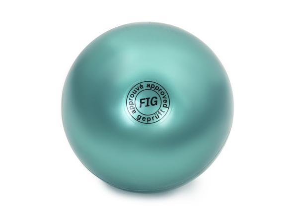 Мяч гимнастический d15 см зеленый