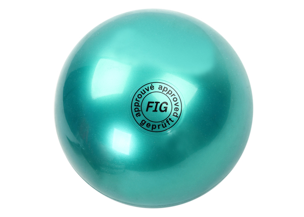 Мяч гимнастический d19 см зеленый