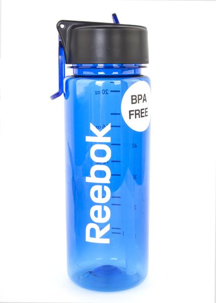 f48bbc68009d2e Бутылка для воды Reebok RABT-P65ВL 650 мл синяя - Сеть спортивных ...