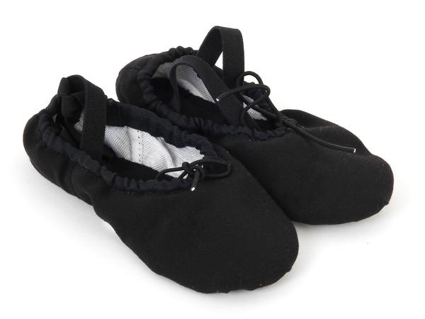 Балетки черные