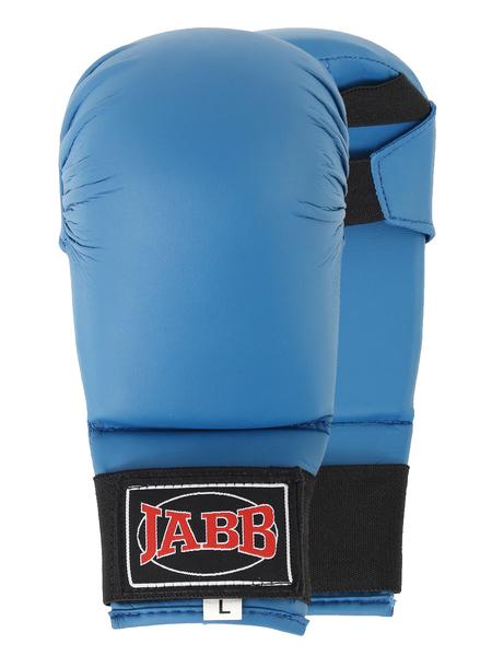 Накладки для каратэ  Jabb JE-2791 искусственная кожа синий