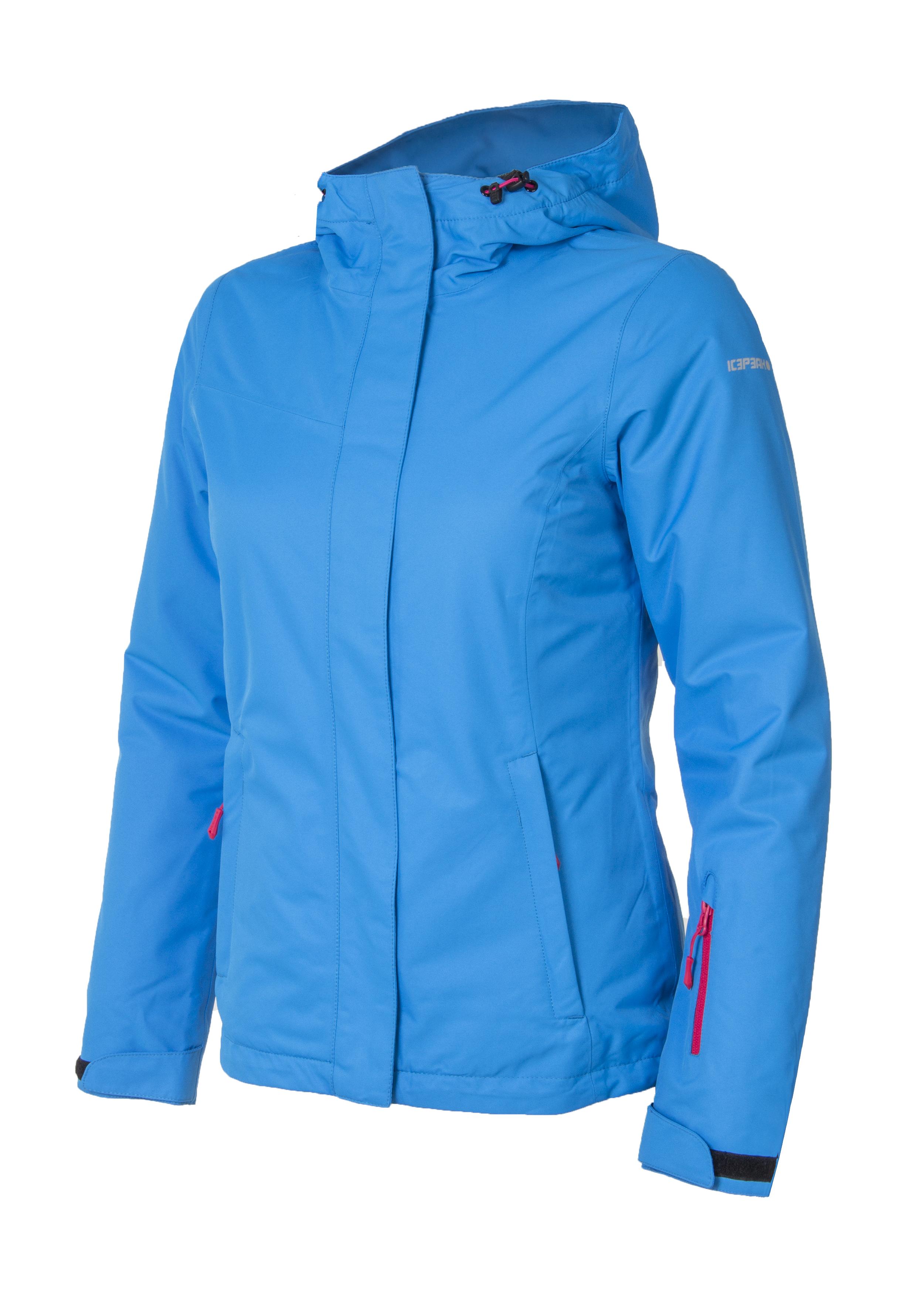 Куртка горнолыжная женская Icepeak голубая - Сеть спортивных ... 72cdc622889