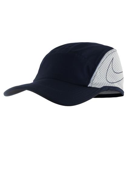 Кепка (бейсболка) Nike AeroBill Running Cap синяя