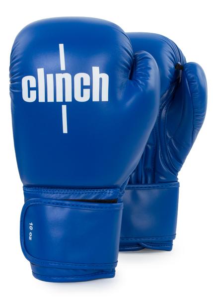 Перчатки боксерские Clinch Olimp C111 синие