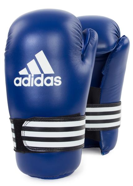 Перчатки полуконтакт Kickboxung Semi Contact Cloves синие