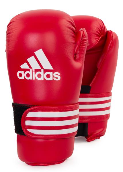 Перчатки для единоборств Adidas Semi Contact Gloves красные