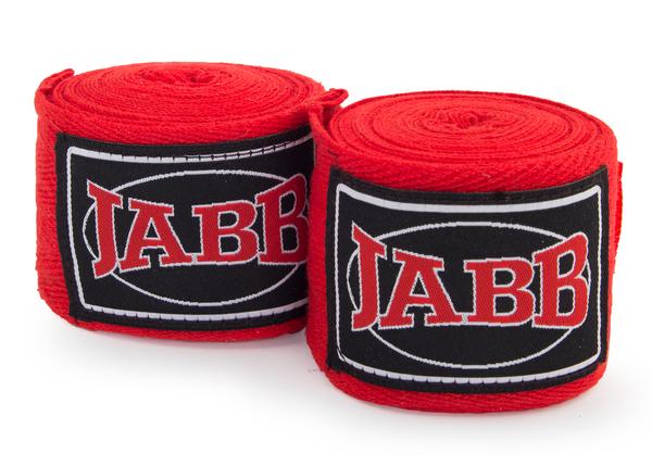 Бинт х/б Jabb JE-3030 3,5м красный