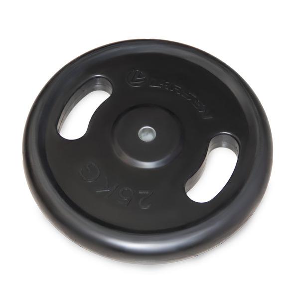 Диск обрезиненный с ручками d 25 мм Larsen NT121N 25 кг