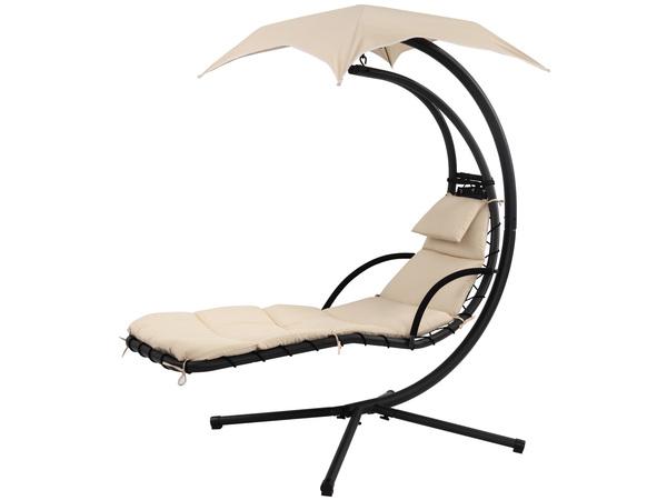 кресло-лежак с зонтом Larsen Camp Crescen