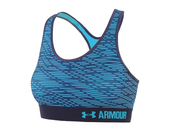 Топ женский Under Armour Mid Bra Printed