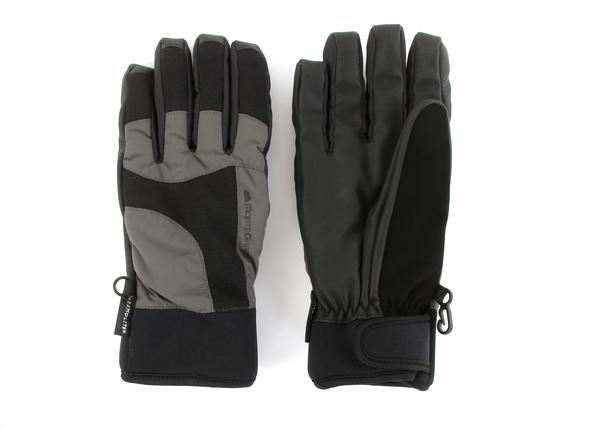 Перчатки горнолыжные Monte Grande серые/черные