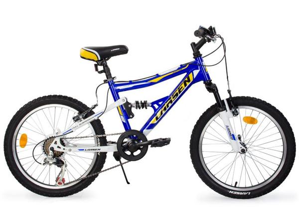 Велосипед детский горный двухподвес Larsen Raptor