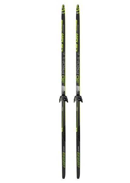 Лыжи беговые с креплениями Larsen Active 75мм